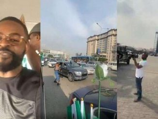 """#EndSARSMemorial: """"Have You Eaten? Are You Okay?"""" – Singer, Falz Questions Policemen"""
