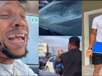 Charles Okocha Speaks On Video Of Him Smashing Friend's Car, After Spotting His Alleged Daughter In A Car