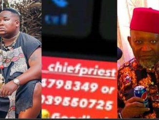 """""""No Peace For The Wicked"""" – Cubana Chiefpriest 'Consults The gods' After His Number Got Leaked"""